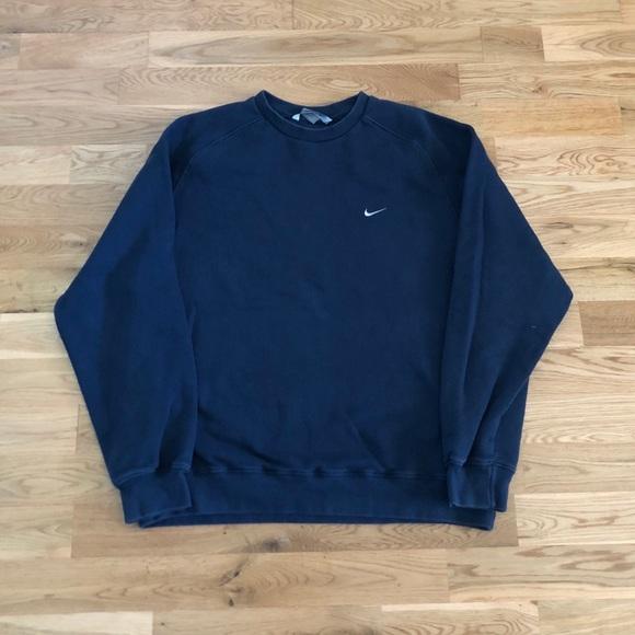 Vintage 90's Nike Swoosh Men's Crewneck Sweater